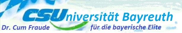 CSUniversität Bayreuth Dr Cum Fraude fuer die Elite