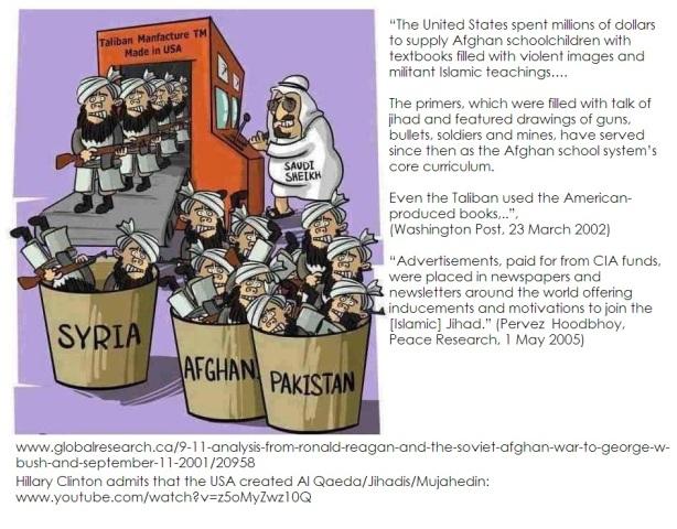 USmade Taliban factory and Saudis