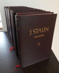 J-W-Stalin+J-W-Stalin-Werke-Band-1-bis-13-komplett-in-dreizehn-BändenFront