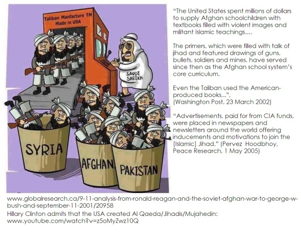 US-made extremists for Afghan-Bosnia-Chechenya-Jemen-Libya-Syria